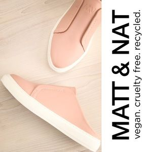 Matt & Nat Elma Blossom Leather Slip On Sneakers